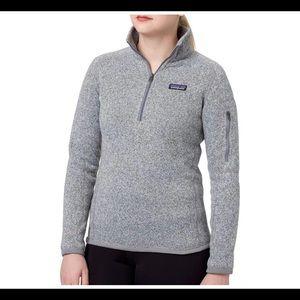 Patagonia better sweater quarter zip fleece